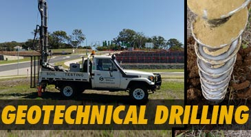 geotechnical drilling gympie