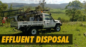 effluent disposal sunshine coast